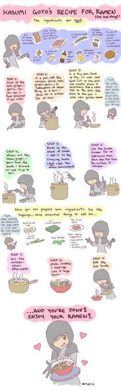 Real ramen noodles recipe – illustrated!