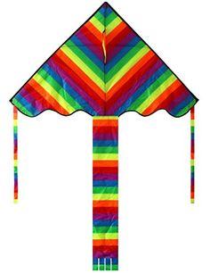 Hengda Kite Rainbow Delta Kite, 60-inch - Kites For Kids ... https://www.amazon.com/dp/B01B18FH2U/ref=cm_sw_r_pi_dp_x_ybInzbA516GG5