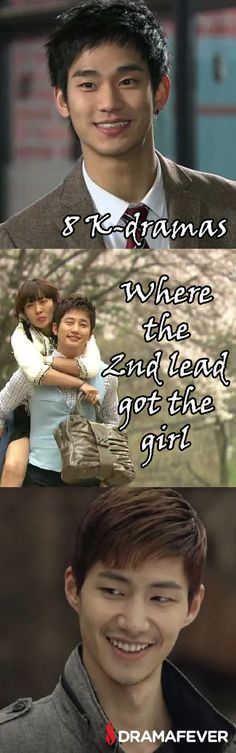 Sometimes the second male lead does get the girl, like in these dramas!