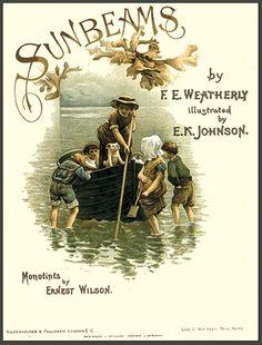 SUNBEAMS by F.E. Weatherly 1890