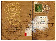 Postal Art by Dani Loyzaga