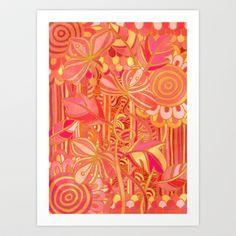 Drawn into the Garden Art Print by micklyn - $16.00