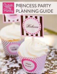 Princess Party Planning eBook by CatchMyParty.com