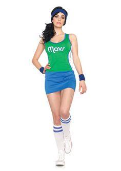 2Pc.Mavericks Costume
