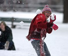 """""""Snow ball fight!"""""""