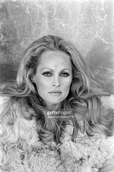 On the Set of the Movie 'Red Sun' In Spain In March, 1971 - American actress Ursula Andress on the set of the movie 'Red Sun' (Soleil Rouge), directed by Terence Young.