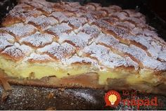 Pudingáč s jablkami (hrnčekový) - Mňamky-Recepty. Apple Desserts, Fall Desserts, Delicious Desserts, Romanian Desserts, Romanian Food, Dessert Bread, Dessert Bars, Cookie Recipes, Dessert Recipes