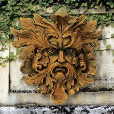$36 - Design Toscano Oak King Greenman Wall Decor | Wayfair