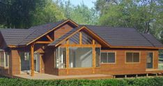 Shed, Outdoor Structures, Cabin, House Styles, Home Decor, Log Cabin Houses, Mediterranean Houses, Tiny House Plans, Country Houses