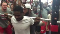 UNLV football offers extremely intense weight room experience