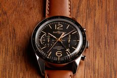 The Bell & Ross BR 126 Heritage Sport GMT & Flyback