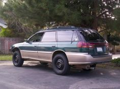 1998 Subaru Legacy Outback Limited - modified