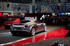 Première Alfa Romeo 4C - Geneva Motor Show 2013, via Flickr. #AlfaRomeo #AlfaRomeo4C