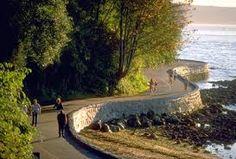 Stanley Park Vancouver, B.C. Canada   (Seawall walk)