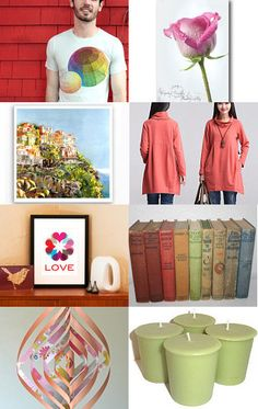colorful christmas gifts! by KadyJane on Etsy--Pinned with TreasuryPin.com