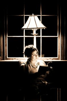 Where do you read your #books? www.digiwriting.com ♥  Archive Diving: Girl Reading by Keitha