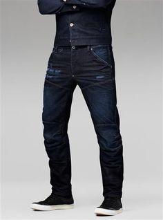 Guy Fashion, Jeans Fashion, Military Fashion, Raw Denim, Denim Jeans Men, Mens Trousers Casual, Men Casual, Drop Crotch Jeans, Keith Kogane