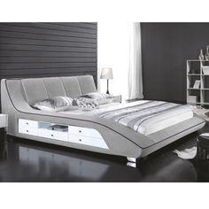 Modern Bedroom Furniture, Sofa Furniture, Furniture Design, Ceiling Design Living Room, Living Room Designs, Bedroom Bed Design, Bedroom Decor, Vintage Beds, Smart Bed