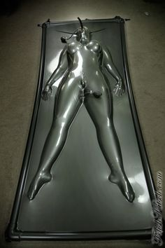 Latex vacuum bed vids nice answer