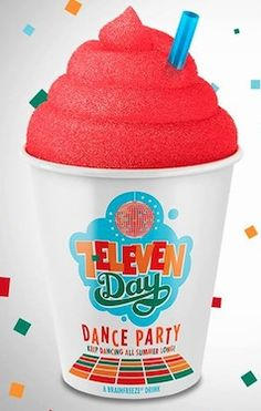 7-Eleven Day:  #Free Slurpee + More Freebies w/Mobile App.  See more #freebies, #deals and #coupons at threeinthefamily.com