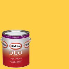 Glidden DUO 1-gal. #HDGY41D Festival Yellow