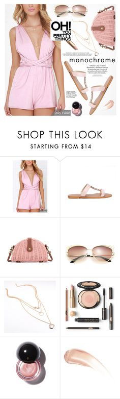 """""""Pink - Yoins"""" by yexyka ❤ liked on Polyvore featuring Wander Beauty"""