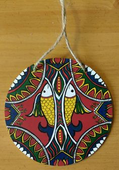 Check out this item in my Etsy shop https://www.etsy.com/listing/471527745/original-folk-painting-madhubani-hand