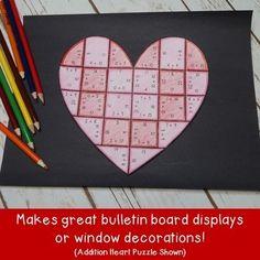 Valentine's Day Math Activities: Multiplication | Valentines Day Activities