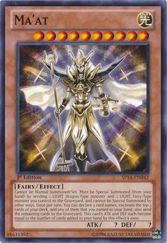 yugioh ma'at - Google Search