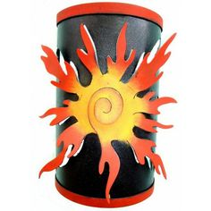 SUN WALL SCONCE CANDLE HOLDERS