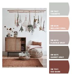 Paint colors from ColorSnap by Sherwin-Williams Exterior Color Palette, Bedroom Colour Palette, Red Colour Palette, Bedroom Paint Colors, Exterior House Colors, Bedroom Inspiration Cozy, Bedroom Ideas, Red Interiors, Colorful Interiors