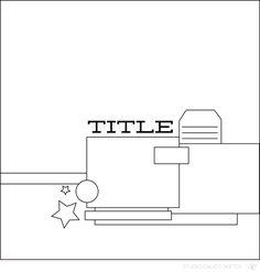 Blog: Sunday Sketch | Stephanie - Scrapbooking Kits, Paper & Supplies, Ideas & More at StudioCalico.com!