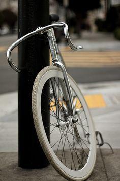 Chrome #track #bike #fixed