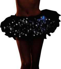 TARDIS tutu: Black LED Tutu - Light Up Costumes & EL Wire Clothing - LED Clothing & Light Up Apparel - LED Products & Light Up Decorations | Windy City Novelties