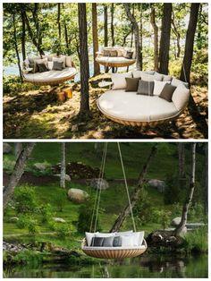 amazing Swingrest Garden Furniture #Garden One of the best gardening piece from DEDON...