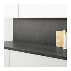 IKEA - SIBBARP, Wandpaneel maßgefertigt, Schützt die Wand vor Verschmutzung und erleichtert das Sauberhalten.Hitzebeständig, Wasser und Schmutz abweisend: für Wände hinter Arbeitsplatten und Kochfeldern (Gaskochfeld ausgenommen).Das Wandpaneel wird entsprechend der Küchenlösungen maßgefertigt. Passende Tiefe (max. 120 cm) und Länge wählen (max. 300 cm ohne Fugen).