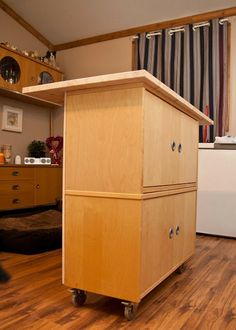 Kitchen Island for small spaces - IKEA Hackers