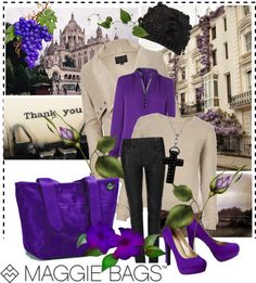 """""""SHOP - MAGGIE BAGS"""" by ladymargaret ❤ liked on Polyvore"""