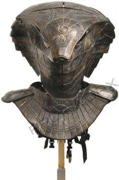 Jaffas Guard Serpent Helmet Frontal View