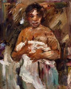 Lovis Corinth, Mädchen, sich entkleidend, 1917, Auktion 905 - 900. Auktionen - Moderne Kunst, Lot 562 Life Drawing, Room Paint, Figure Painting, Nudes, Art Forms, Impressionism, Printmaking, Art Nouveau, Modern Art