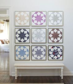 6 New Ways to Use Old Quilts 2019 Craft Ideas for Country Quilts Quilt Patterns The post 6 New Ways to Use Old Quilts 2019 appeared first on Quilt Decor. Old Quilts, Antique Quilts, Barn Quilts, Vintage Quilts, Mini Quilts, Shabby Chic Vintage, Quilt Display, Hanging Quilts, Country Quilts