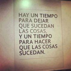 Frases español amor vida @Luna Garcia tiempo