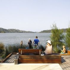 Narrabeen Lagoon by Aspect Studios