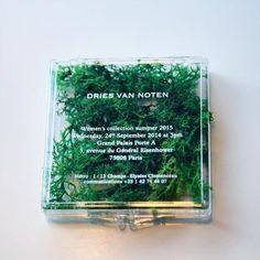 Resultado de imagen de dries van noten invitation fashion week
