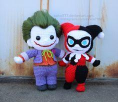Harley and Mr. J by aphid777.deviantart.com on @DeviantArt