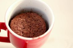 How to Make Cake in a Mug: 10 steps - wikiHow.  Was craving chocolate and this was yummy!