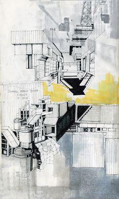 Architect's sketchbooks: Luke Pearson