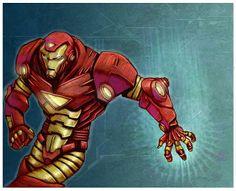 CARLOS VILLAGRA Iron Man