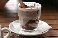 Hot chocolate should have marshmallow, and really Lindt hot chocolate flakes.