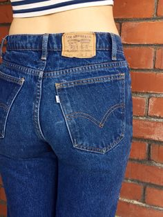 LEVIS 505 Jeans 28 Waist White Tab Student Fit 705 by HuntedFinds